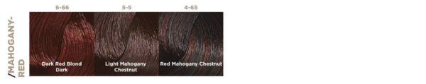 mahogany-red