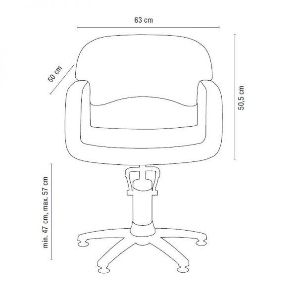 sibel opera styling chair 3